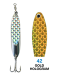 Deadly Dick Standard Lure - 42- Gold Hologram