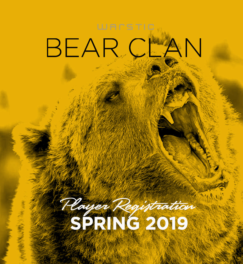 Bear Clan - Team Registration Fee - Spring 2019
