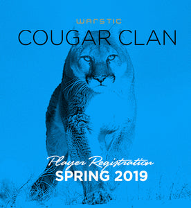 Cougar Clan - Team Registration Fee - Spring 2019
