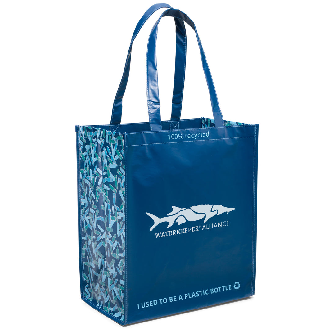 100% Recycled Shopping Bag
