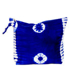 "Trousse de plage ""tie and dye"" Blue"