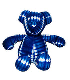 "Grand nounours ""tie and dye"" Bleu"