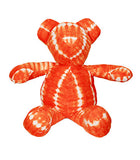 "Grand nounours ""tie and dye"" Orange"