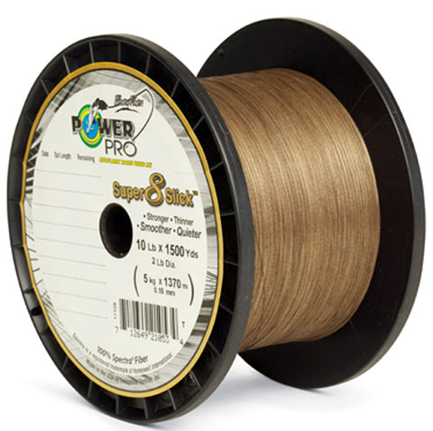 PWR PRO SUP SLICK 40# 1500YD TIMBER