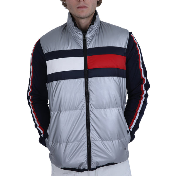 Tommy Sleeveless Zip-Up Jacket Men's
