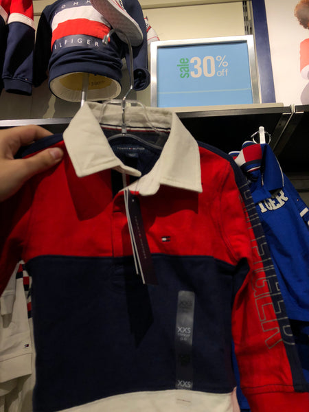 Tommy Kids Collared Long Sleeve