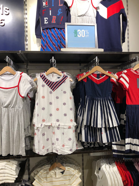 Tommy Kids Long Sleeve Dress
