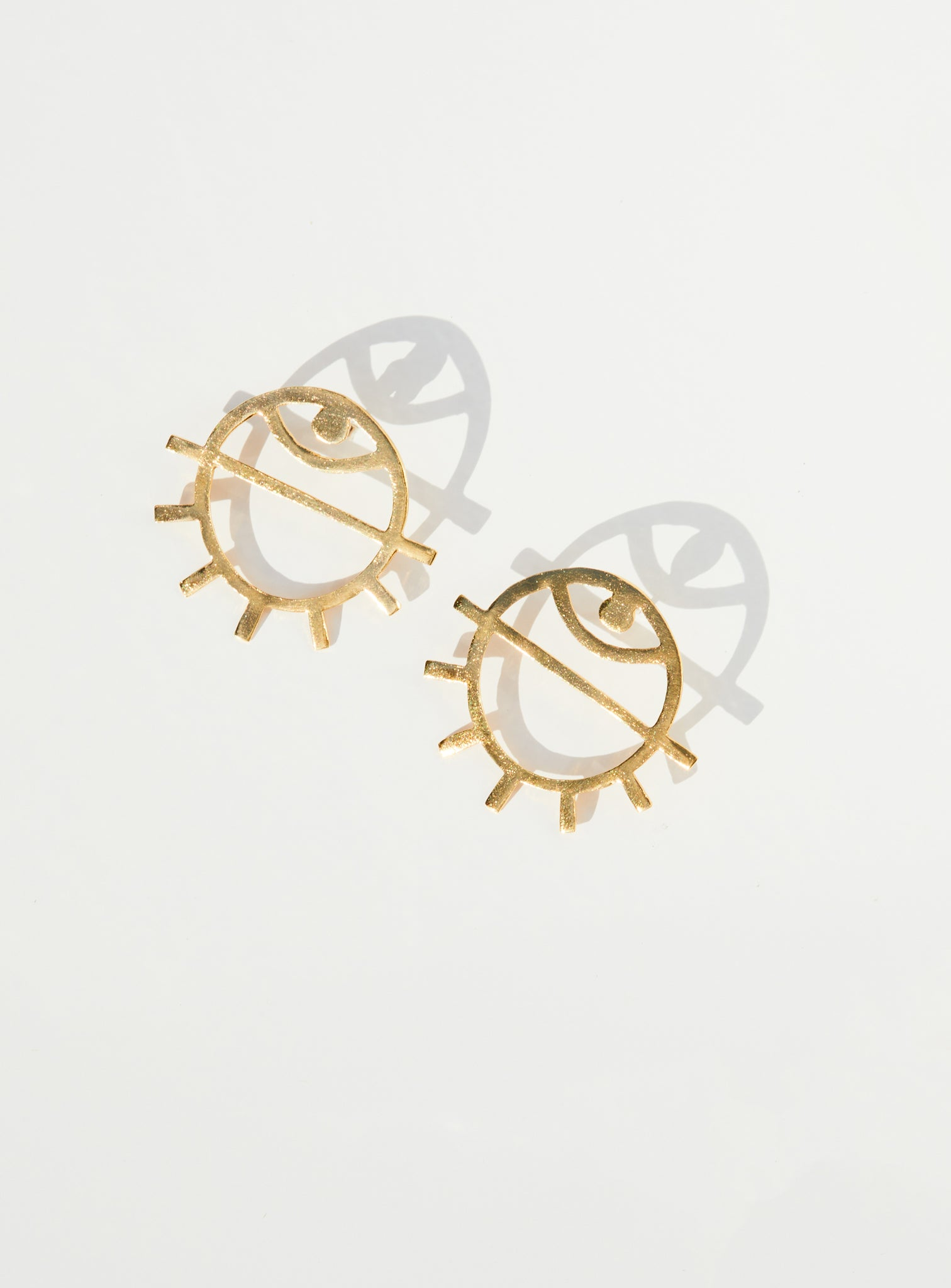 Medium Eye Earring