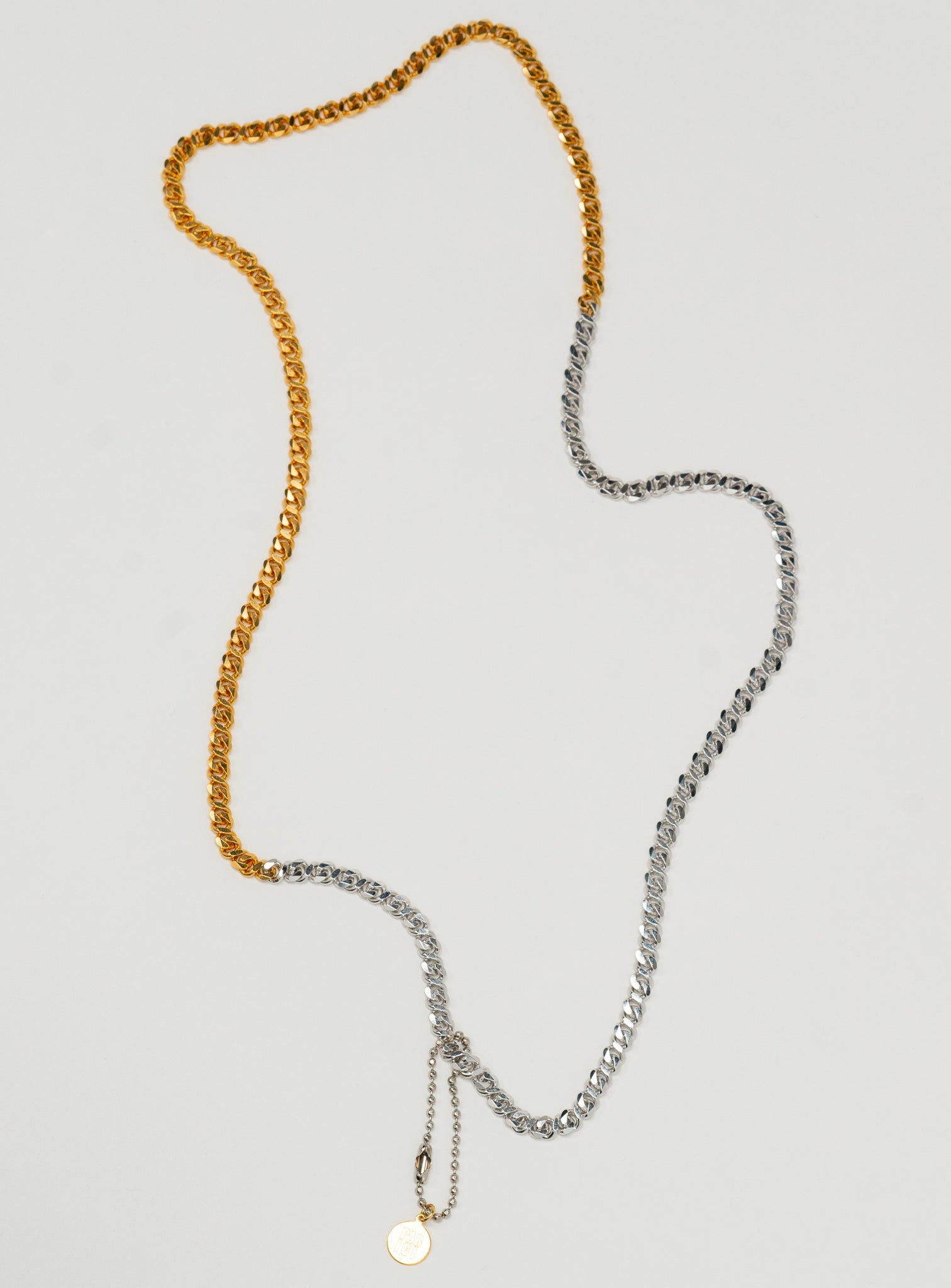 2Tone Infinity Necklace