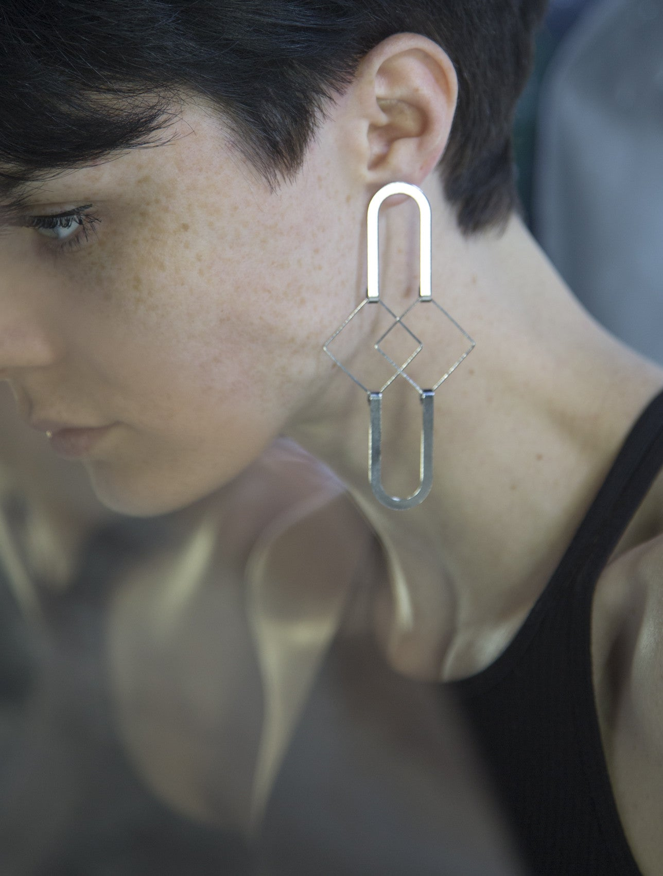 Squared Earrings - SOLD OUT