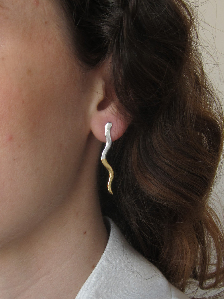 2Tone Chili Earrings