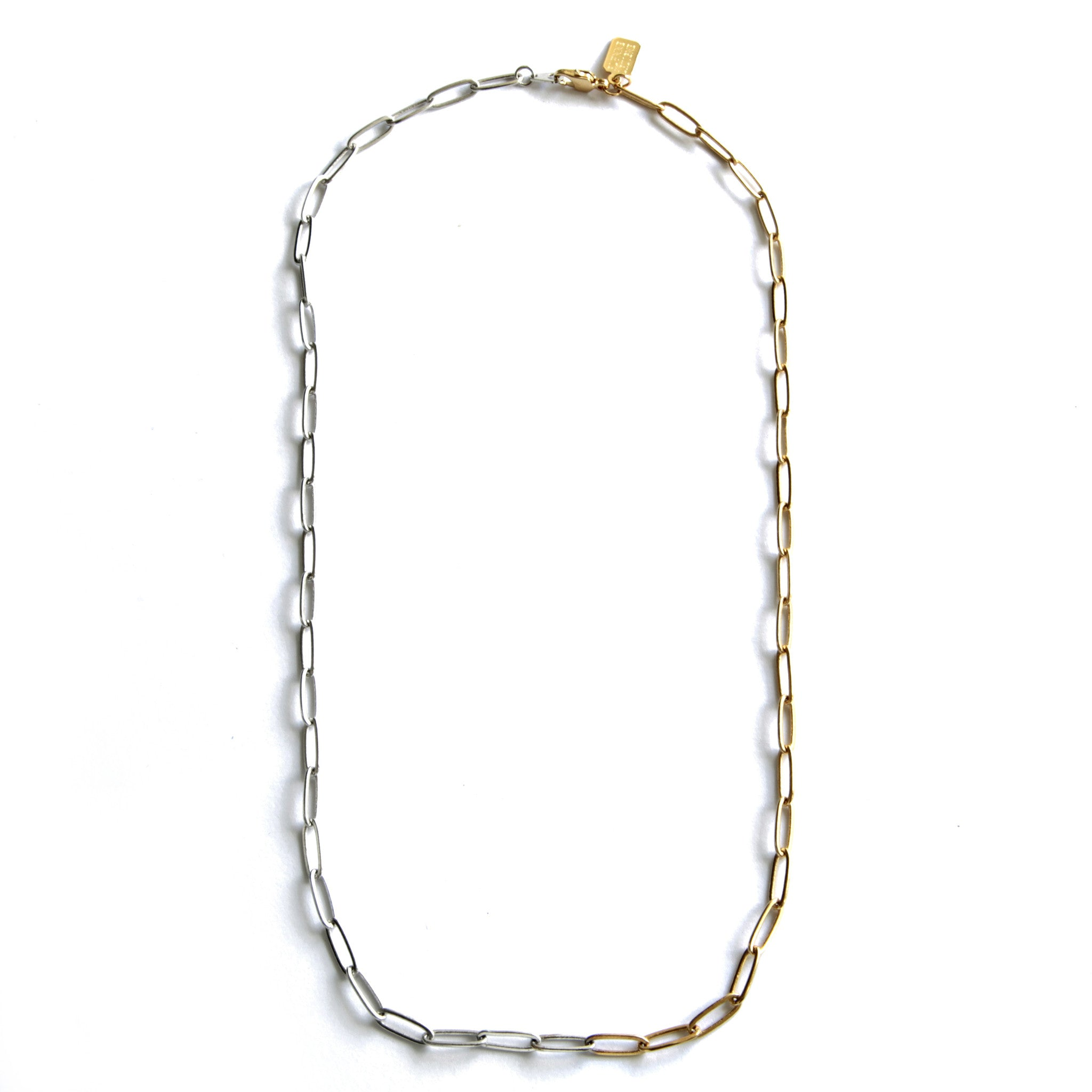 Two Tone Rectangle Chain