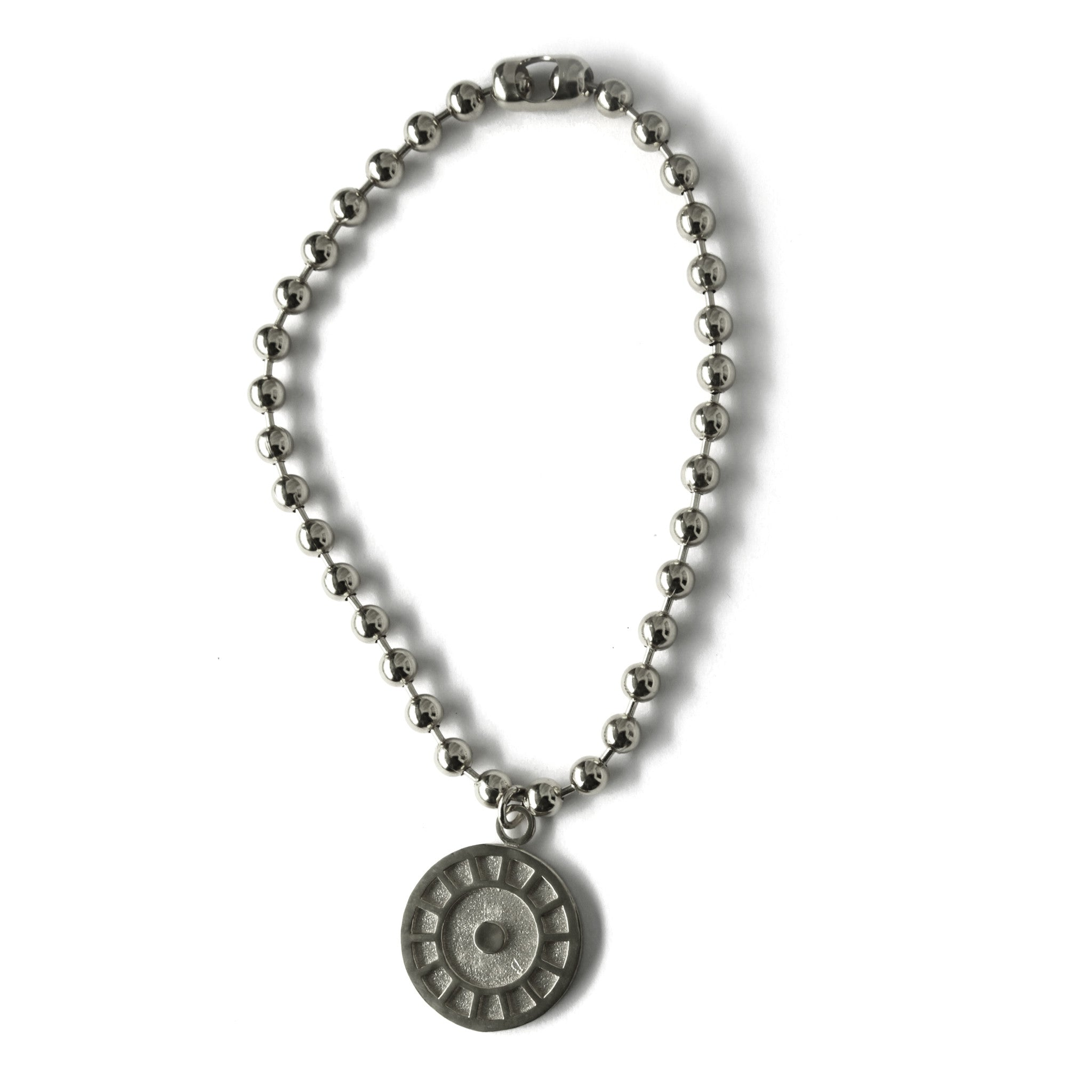 Medallion w/ Ball Chain
