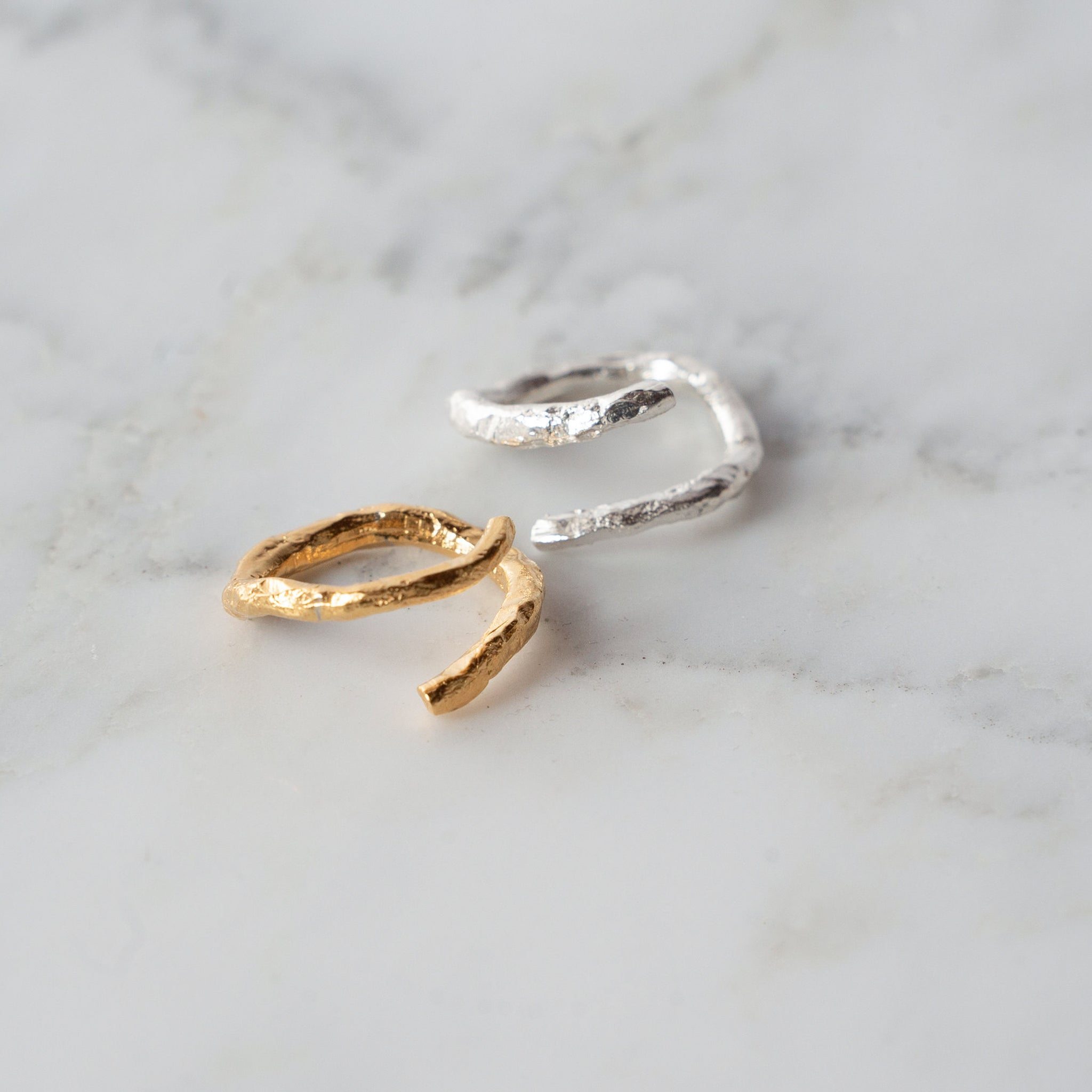 Textured Wrap Ring