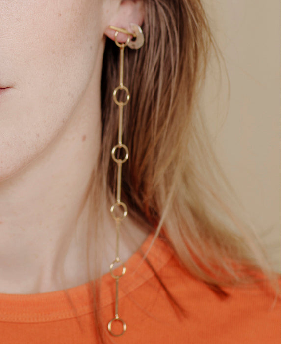Detachable T Earrings