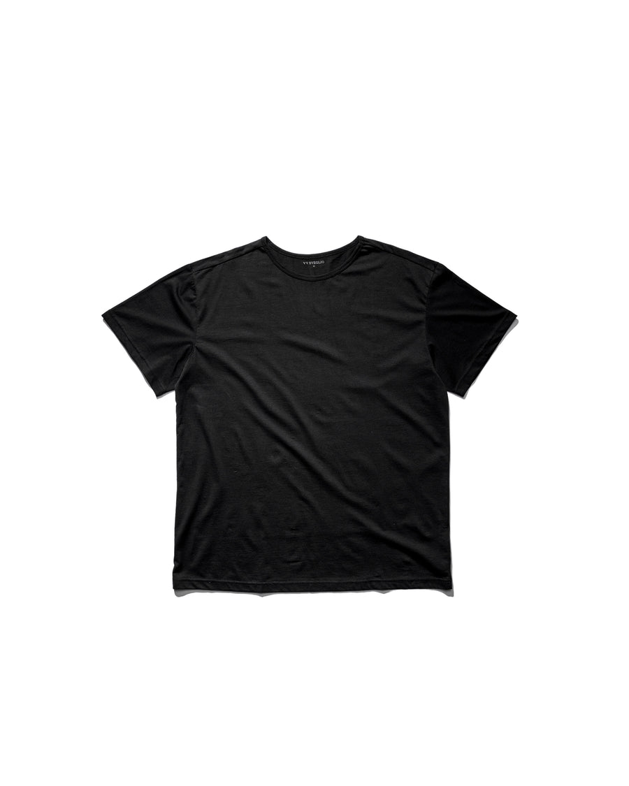 Box Fit Tee - Midnight Black