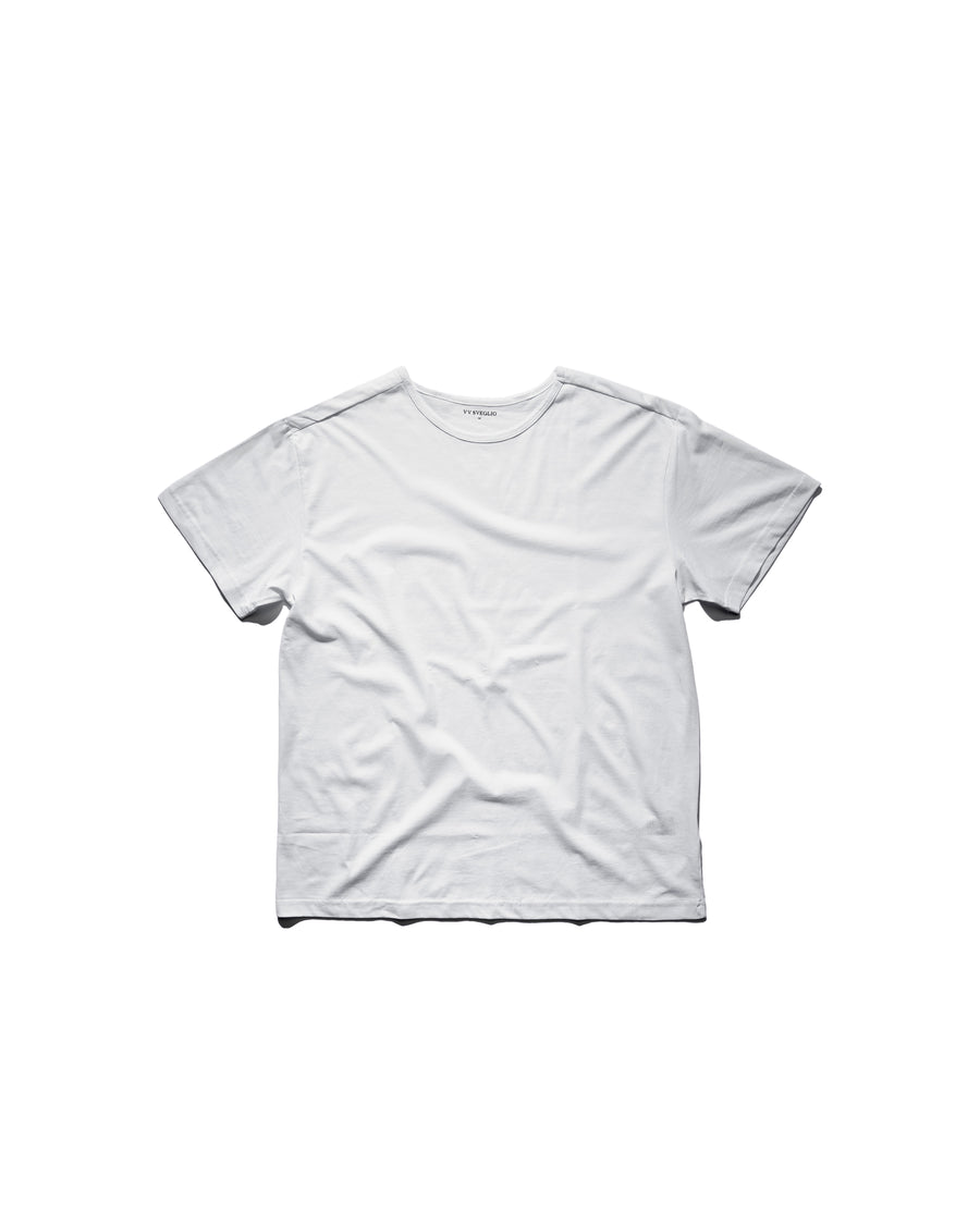 Box Fit Tee - Polar White