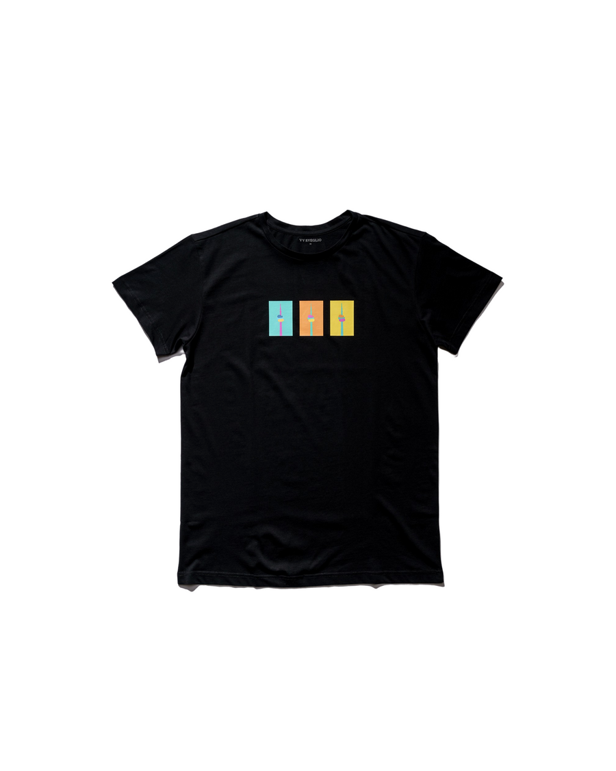 CN Tower Tee - Midnight Black