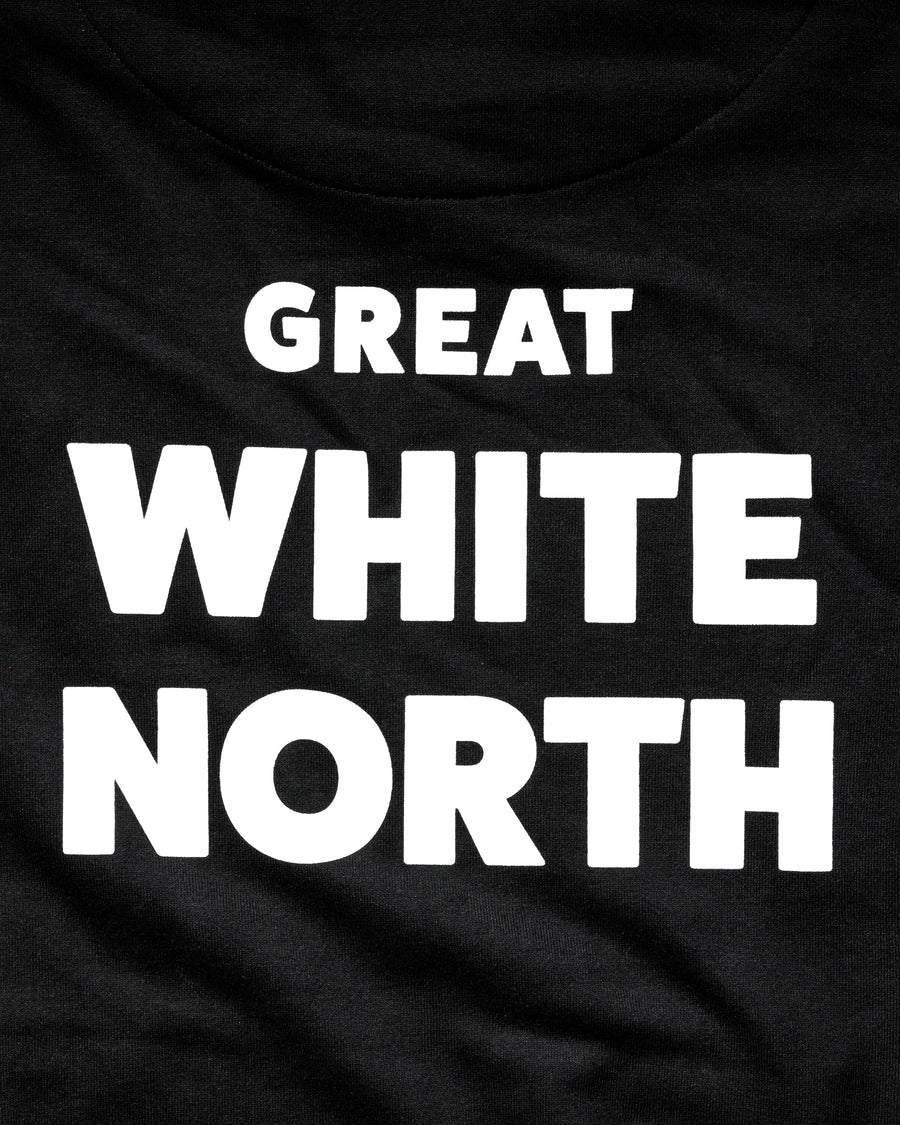 Great White North Hoodie - Midnight Black