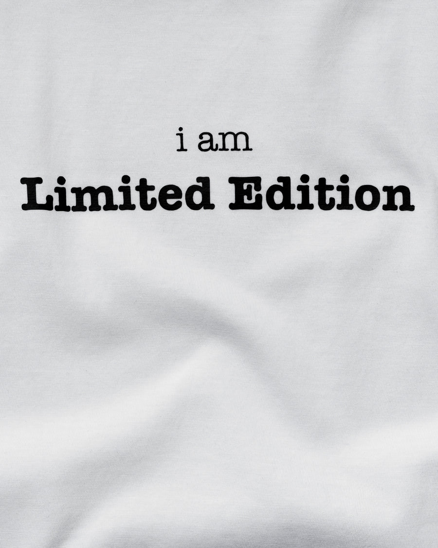 I am Limited Edition Tee - Polar White