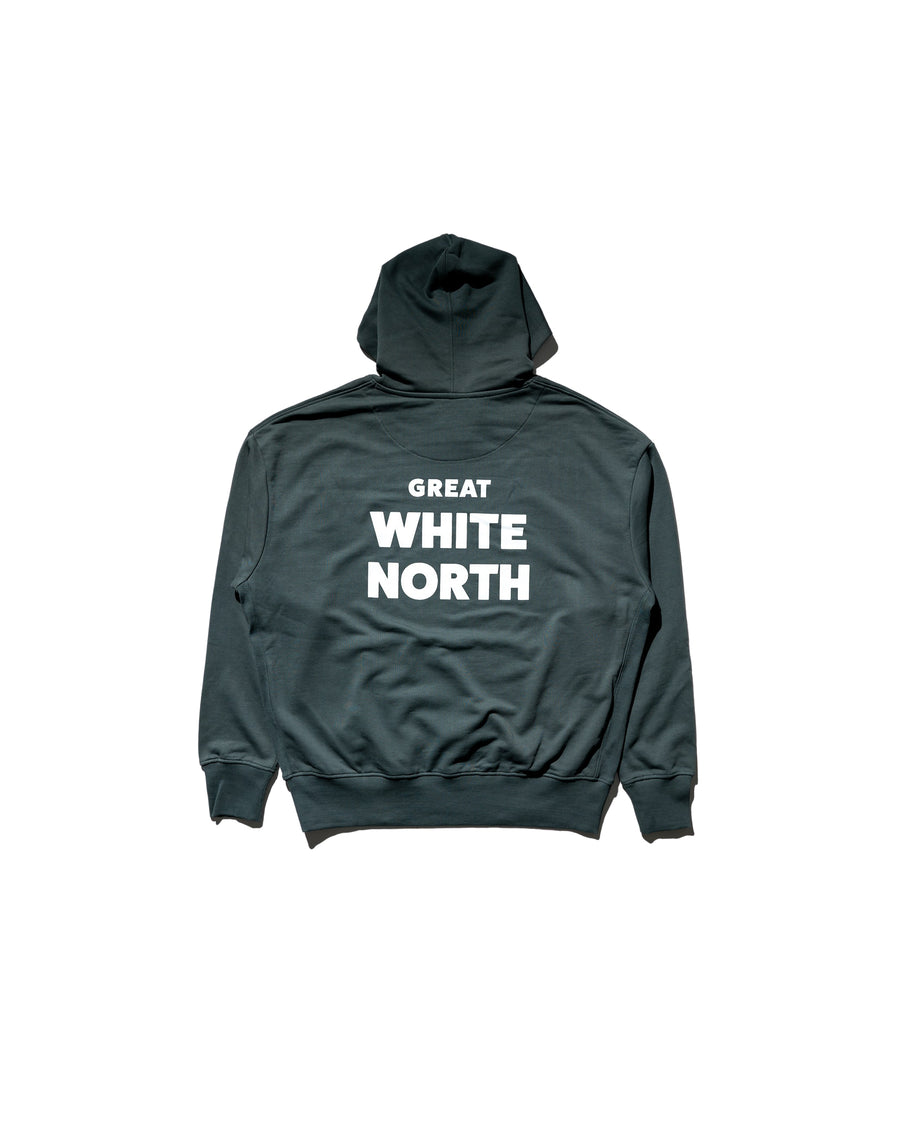 Great White North Hoodie - Agave Green