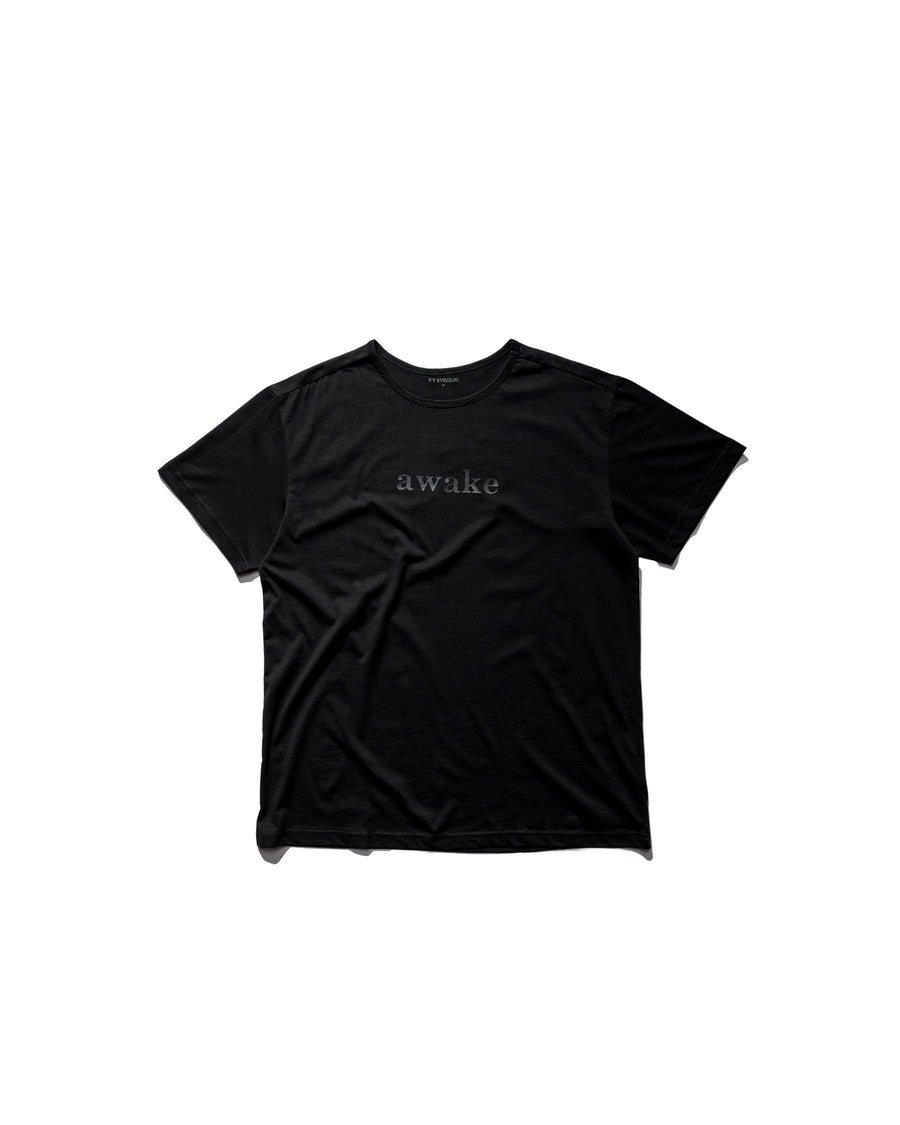 Sveglio Tee - Midnight Black