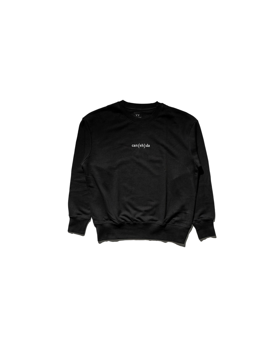 Can(eh)da Sweatshirt - Midnight Black