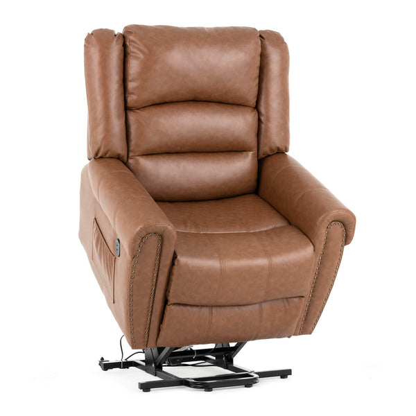 Mecor Lift Chairs Recliners,Lift Chair for Elderly,Reclining Lift Chairs with Massage/Heat/Vibration/Remote Control