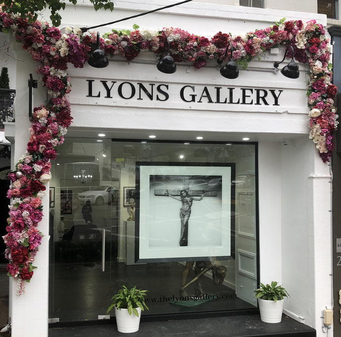 LYONS GALLERY FRONT WINDOW