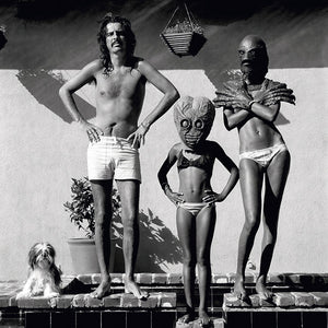Alice Cooper with family