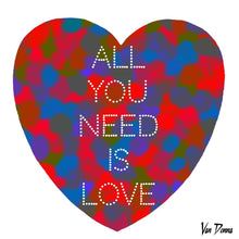 Load image into Gallery viewer, Van Donna – All You Need Is Love
