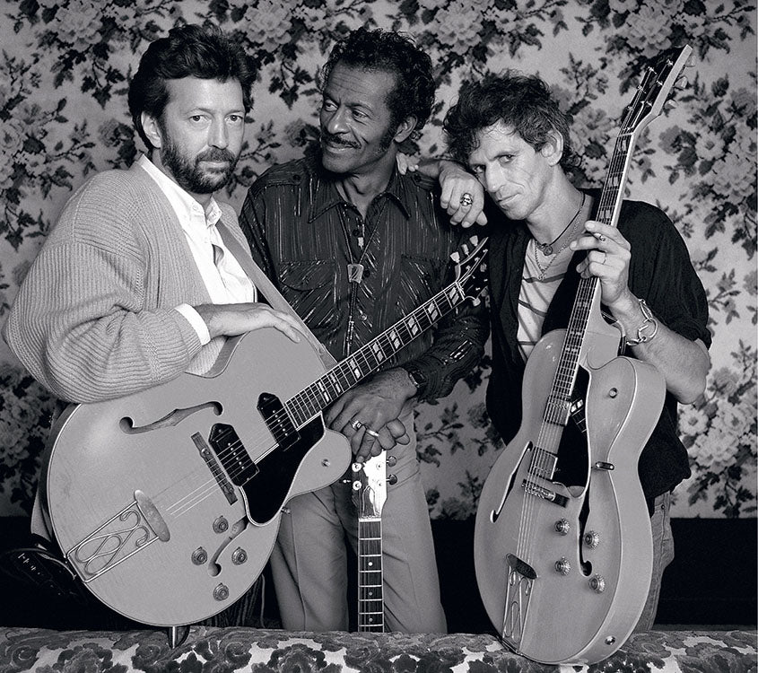 Berry, Clapton and Richards
