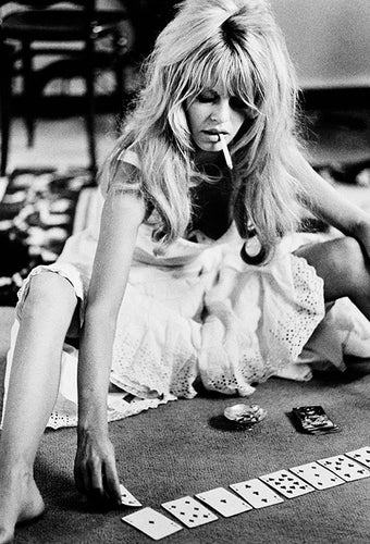 Brigitte Bardot Playing Cards 1965