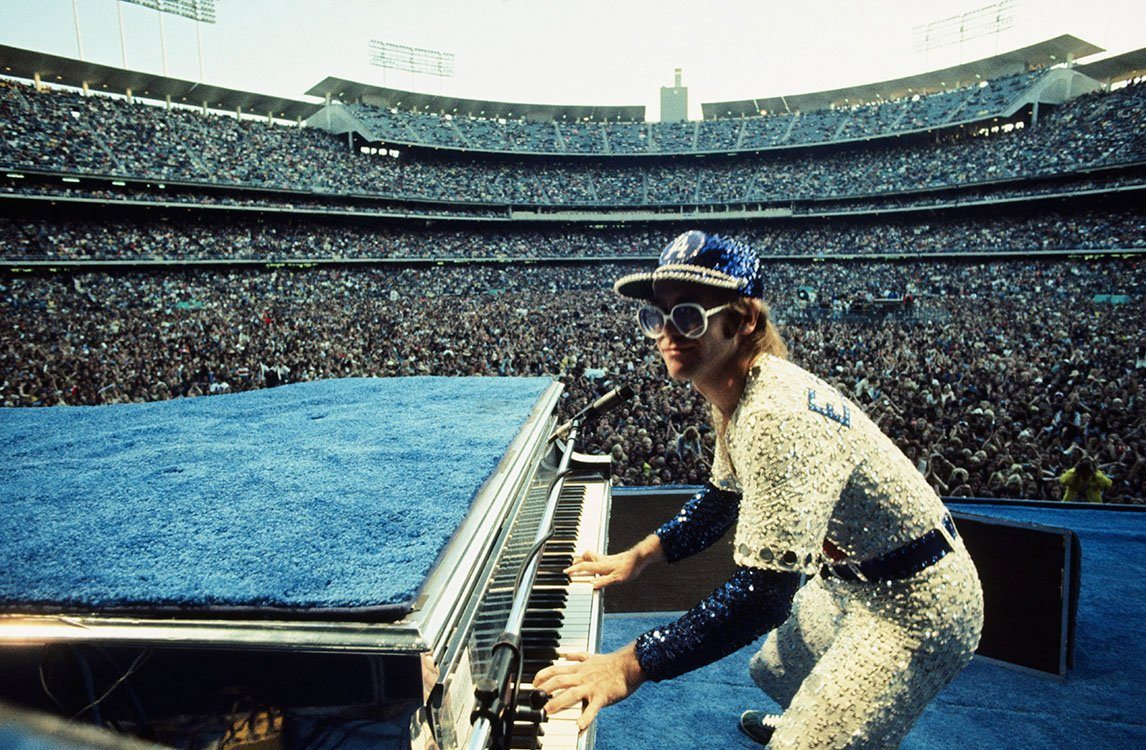 Elton John Live At Dodger Stadium