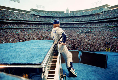 Elton John At Dodger Stadium