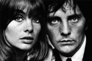 Terence Stamp and Jean Shrimpton