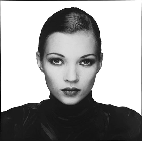 Co-Signed Kate Moss Portrait, 1993