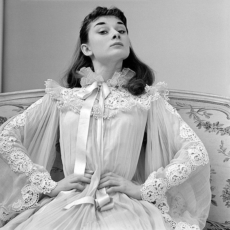 Audrey Hepburn Lace Nightgown