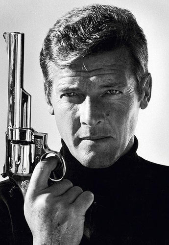 Co-Signed Roger Moore As James Bond