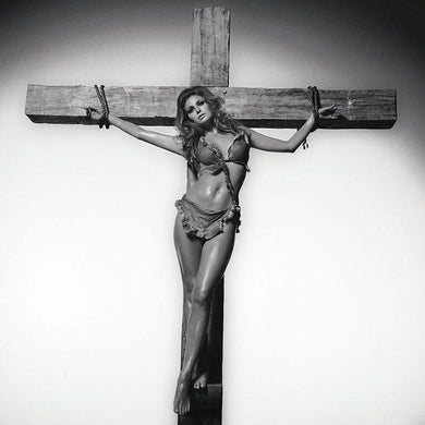 Raquel Welch On The Cross B/W