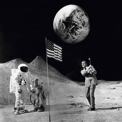 Sean Connery On The Moon