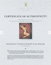 Load image into Gallery viewer, Marilyn Monroe Playboy Legacy Collection