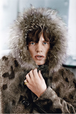 Mick's Parka Mouth Open (colour)