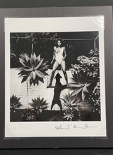 Load image into Gallery viewer, Raquel Welch with Dog, 1980 (Hand Signed)