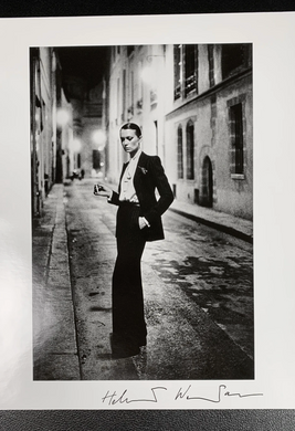 Rue Aubriot I 'YSL' 1975 (Hand Signed)