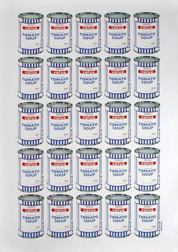 Tesco Tomato Soup cans, 2011