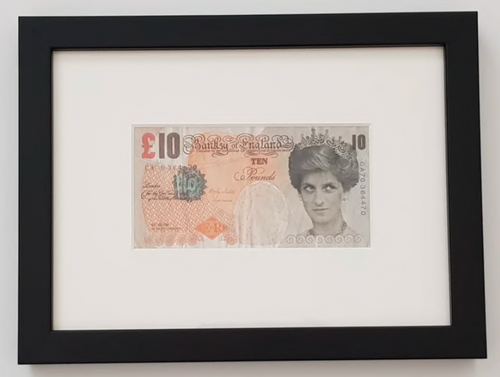 Di-Faced Tenner (provenance edition) 2005