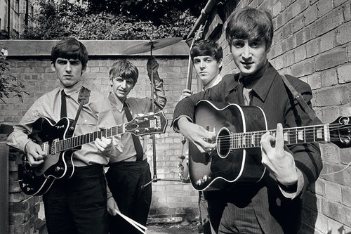 The Beatles Backyard