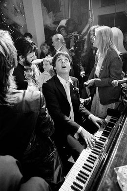 Paul Mccartney At Ringo Starr's Wedding