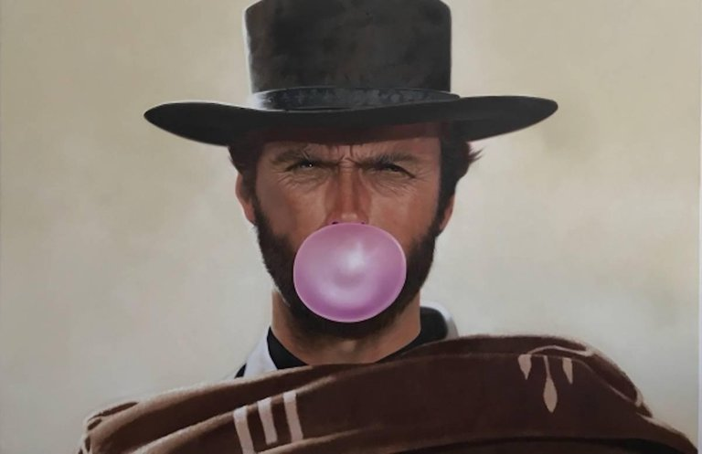 BLONDIE BUBBLEGUM - CLINT EASTWOOD